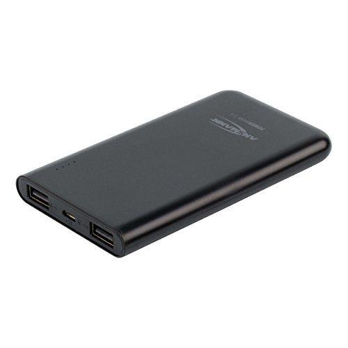 ANSMANN 5400mAh Powerbank 2 USB Ports externer Akku 2.4A Output Power Bank mit LED-Statusanzeige - iPhone, iPad, Tablet, Kindle, Smartphone, Handy mobil und sicher aufladen (Schwarz) #ANSMANN #Powerbank #Ports #externer #Akku #Output #Power #Bank #Statusanzeige #iPhone, #iPad, #Tablet, #Kindle, #Smartphone, #Handy #mobil #sicher #aufladen #(Schwarz)