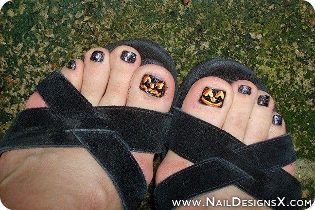 halloween toe nail design » Nail Designs & Nail Art