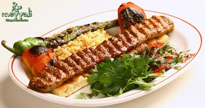 İstinye Meyyali Kebap'ta Zırh Kebabı Menüsü 60 TL yerine 32,50 TL!