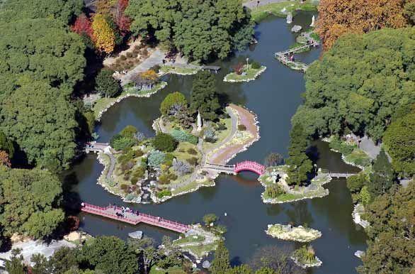 Japanese Garden. Buenos Aires