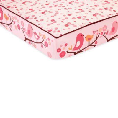 SKIP*HOP® Springtime Birdie Complete Sheet™ Crib Sheet - buybuyBaby.com/ $23.99