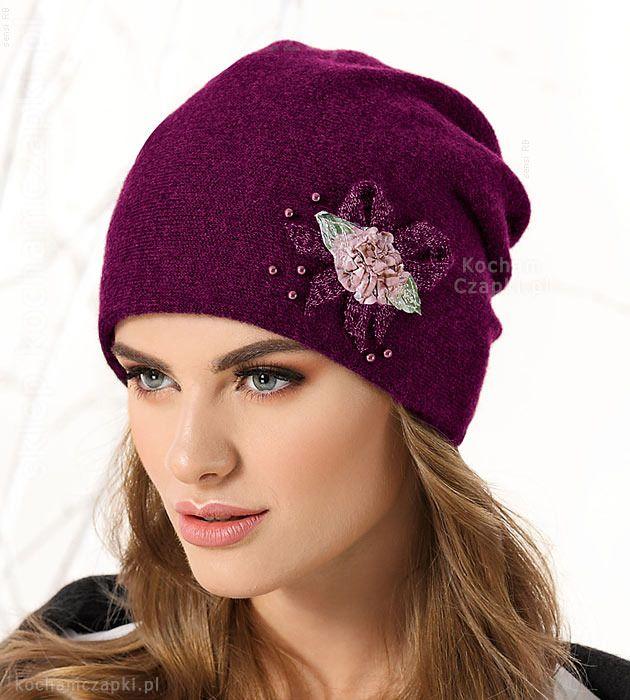 Elegancka Czapka Damska Zimowa Rosepx Rozm 55 57 Cm Produkt Polski 26 Sklep Kocham Czapki Czapka Damskie Kobieta Moda Zimoweczapki Hats Fashion Band