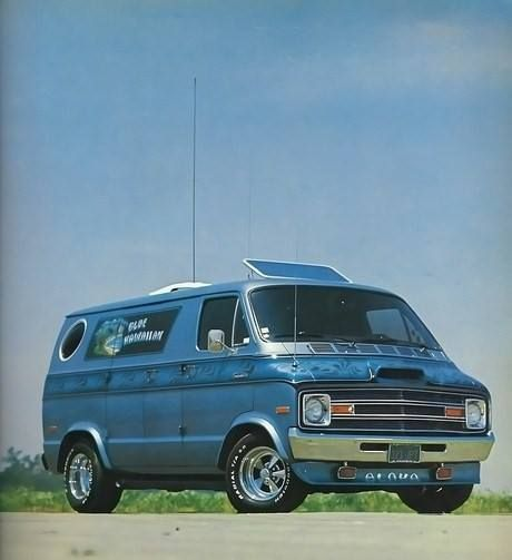Seattle Dodge: 700+ Best Images About 1970's Vans On Pinterest