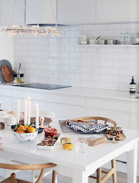 NIB Hjemme magazine, the kitchen of Linn Vikra Heimtun of Home by Linn