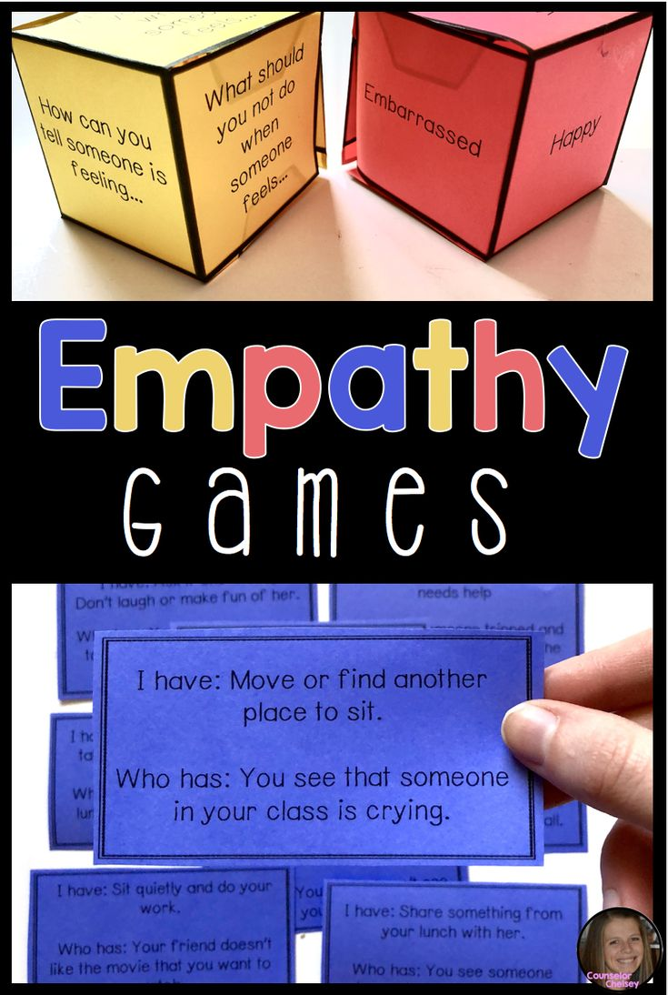"These empathy games are a great way to help your students understand and respond to the feelings of others. Includes a dice game, an ""I Have, Who Has"" and a card game. These games are sure to make your friendship and social skills lessons more fun!"