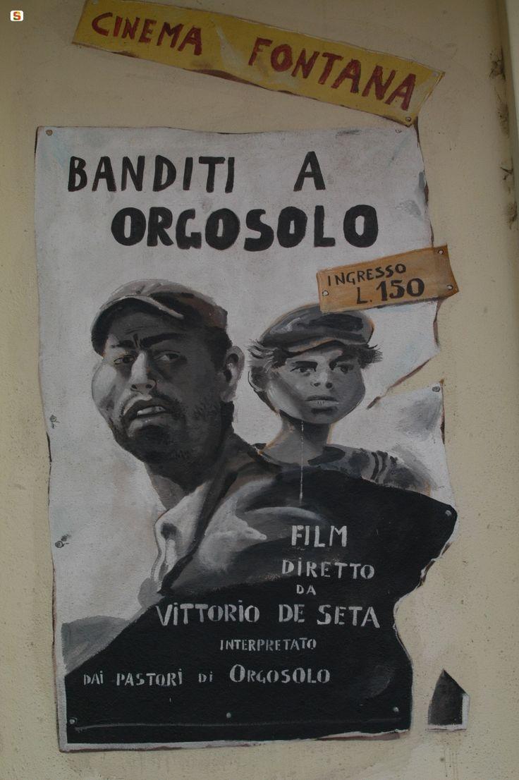 """Locandina film  """"Banditi ad Orgosolo"""""""