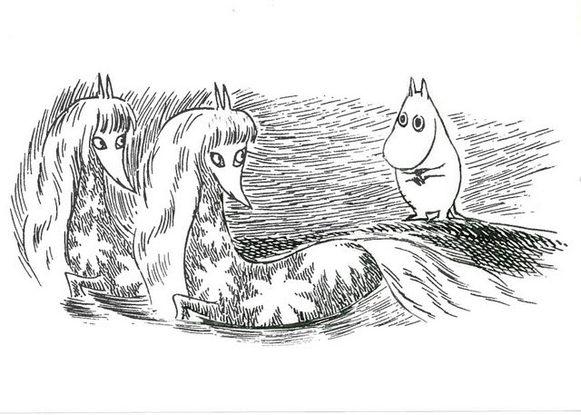 moomin falls in love with seahorses