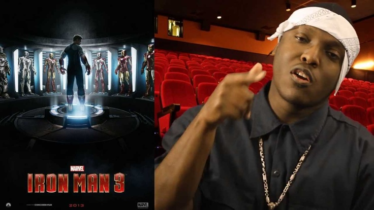 REAL NIGGA REVIEWS: Iron Man 3
