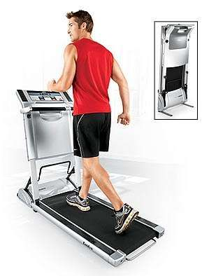 Ultra Compact Treadmill Folds Into 10 Inches - Evolve Foldaway Treadmill (GALLERY)