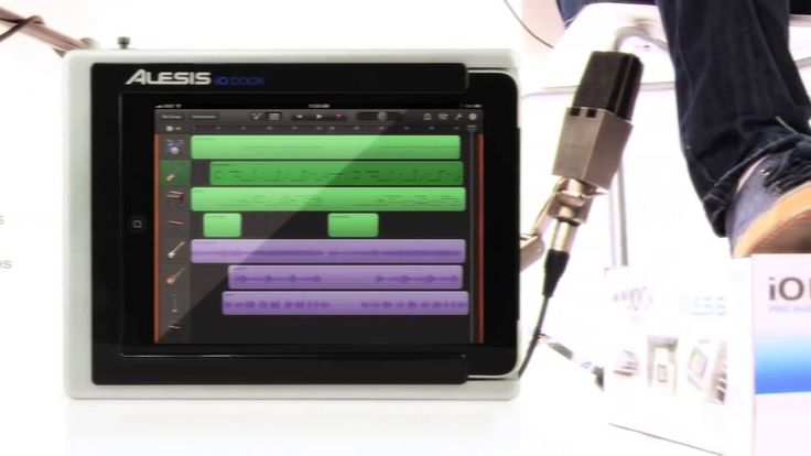 Alesis iO Dock Music Production System for Your ipad
