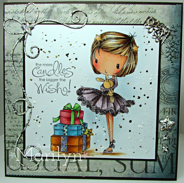 One Stamping Fool: Happy Christmas Little Star - All Dressed Up