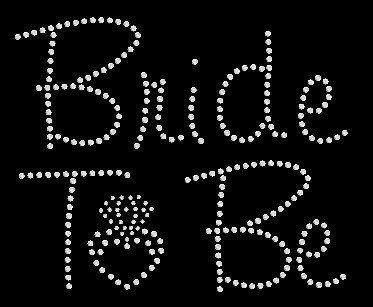 Mariée à être chemise/mariée à être / bachelorette chemise de mariage / mariée T-shirt/strass Bling Bridal Shower Gift/mariée pour mariage cadeaux être Tee