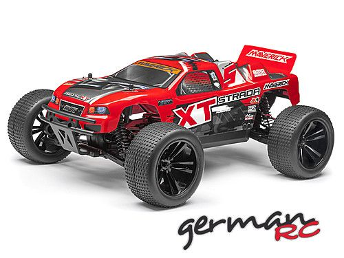 Maverick Strada XT RED Bezszczotka 1/10 RTR Model Truggy