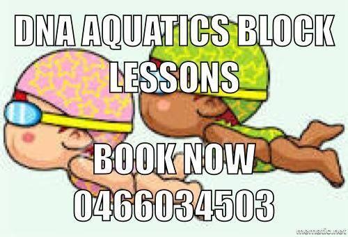 Swimming Lessons Bundaberg. DNA Aquatics Learn to Swim
