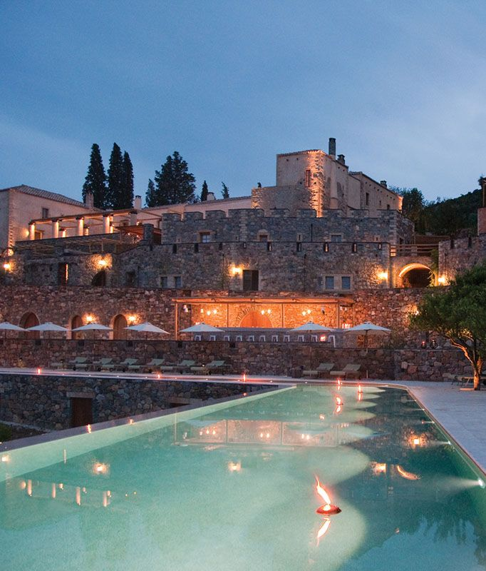 Kinsterna Hotel in Monemvasia, Greece