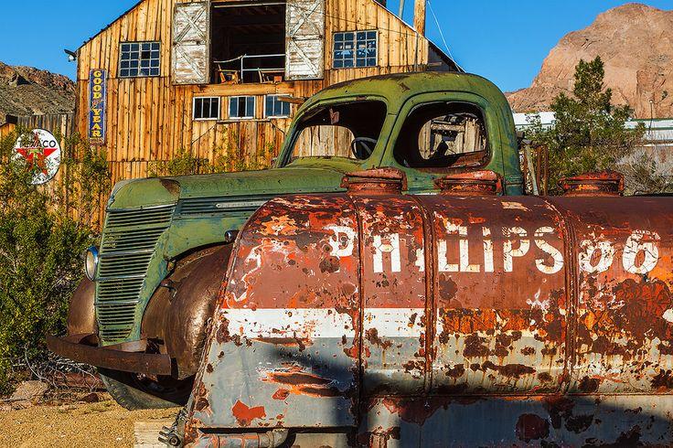 https://flic.kr/p/GtrwLn   Phillips 66   Phillips 66   Nelson Ghost Town Techatticup Mine Nelson, Nevada