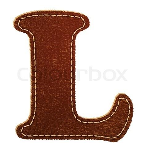 .: Texture Letters, Lovely Letters, Letters L, Letter L