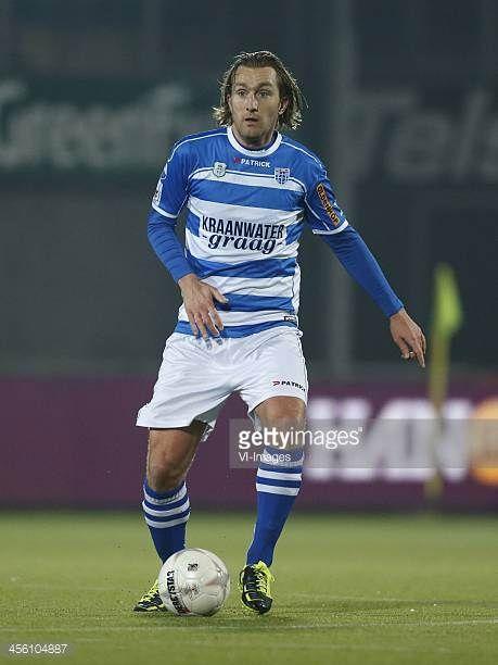 Joost Broerse of PEC Zwolle during the Dutch Eredivisie match between PEC Zwolle and sc Heerenveen on December 13 2013 at the IJsseldelta stadium in...