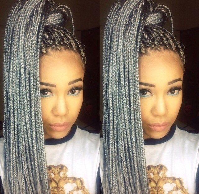 grey senegalese twists - Google Search