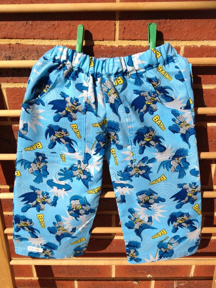 Batman boys shorts for Dallas x