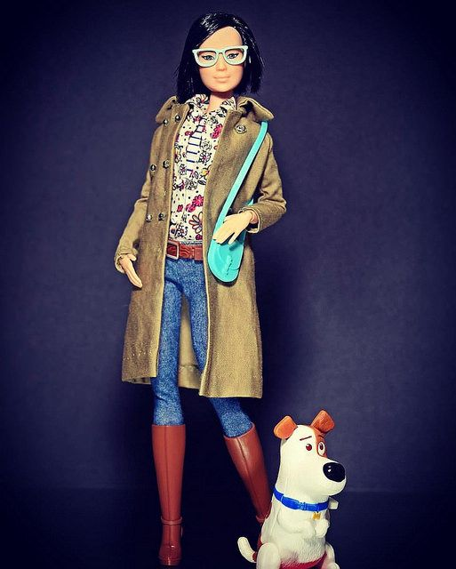 Finally the favorite of the kiddo, Max with his mistress #secretlifeofpets #barbie #barbiestyle #dollstargram #dudeswithdolls #dollphotography #dollphotogallery #dolls#doll#dollstagram#dollstylist #dolls##dollphotography# | by Bret_NJP