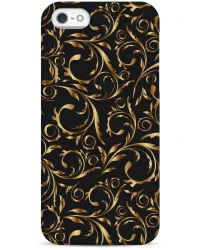 Золотые узоры - iPhone 5 / 5S / 5C Дизайнерские чехлы для iPhone #Sahar cases #чехлы для iPhone