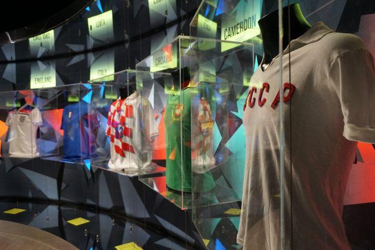 """Il Viaggiatore Magazine - """"Calcio in mostra"""" - Esposizione magliette - Jesolo, Venezia"""