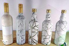 Como reciclar garrafas de vidro - 10 artesanatos passo a passo