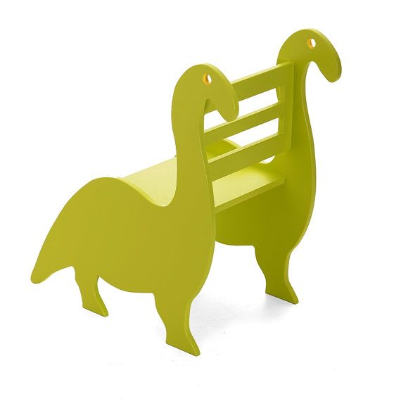 Digby the Dinosaur Children's Wooden Flat by TheLittleArkDesign, £59.00