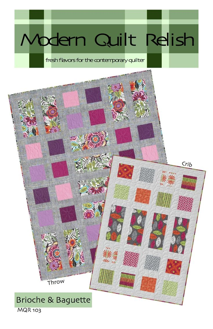 32 best modern quilt relish patterns and books images on pinterest modern quilt relish brioche and baguette quilt quilting patterns sewing jeuxipadfo Gallery