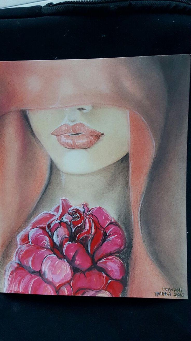 #drawing #ritratto #portrait #arte #matitecolorate #carboncino #charcoal #lyra #rembrandt #disegnoamanolibera ✏✏🎨