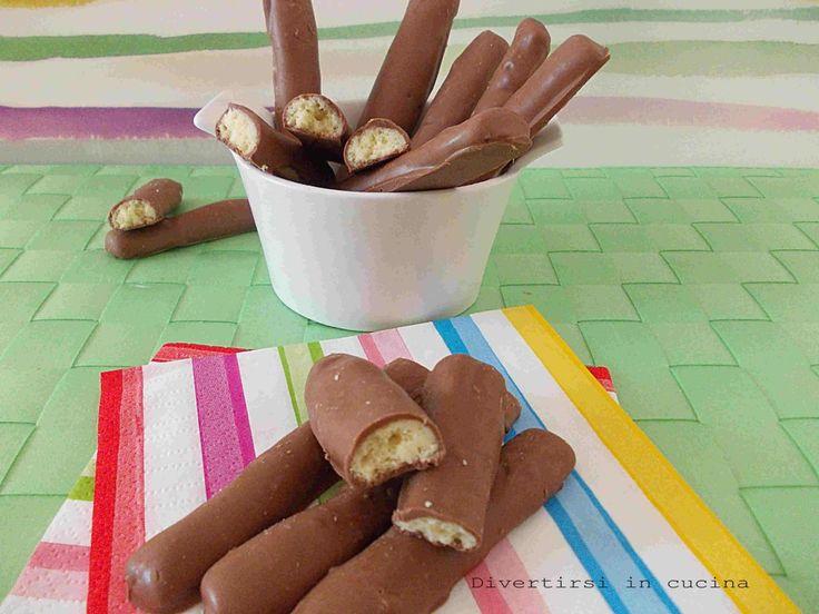 bastoncini di cioccolato Togo | Divertirsi in cucina