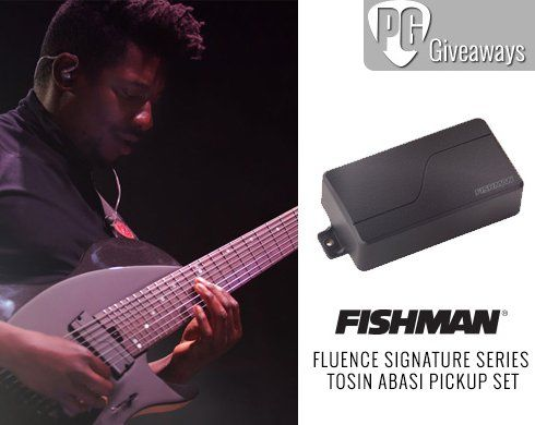Win a set of Fishman electric guitar pickups worth $279.00. Enter for your chance to WIN a Fluence Signature Series Tosin Abasi Pickup Set from Fishman!