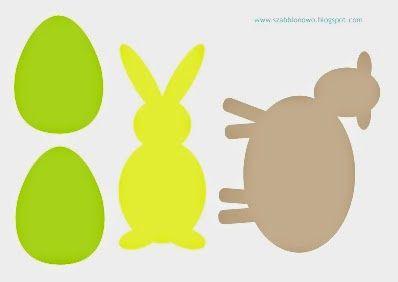 Szablony do wykonania dekoracji wielkanocnych: zawieszek lub ozdób na piku. http://szabblonowo.blogspot.com/2015/03/wielkanocne-zawieszki-ozdoby-na-piku.html