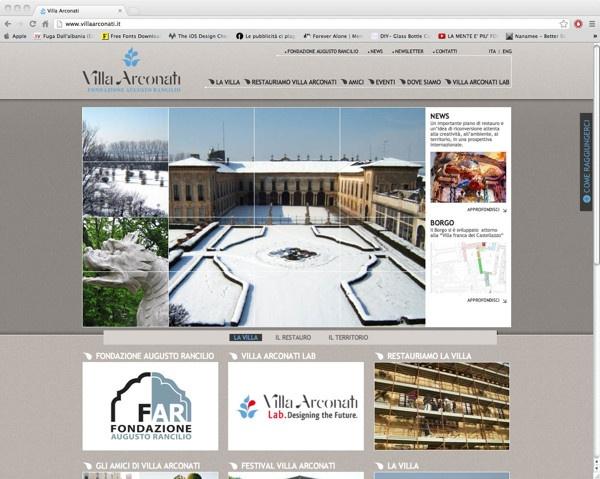 Villa Arconati by Francesco Mollo, via Behance