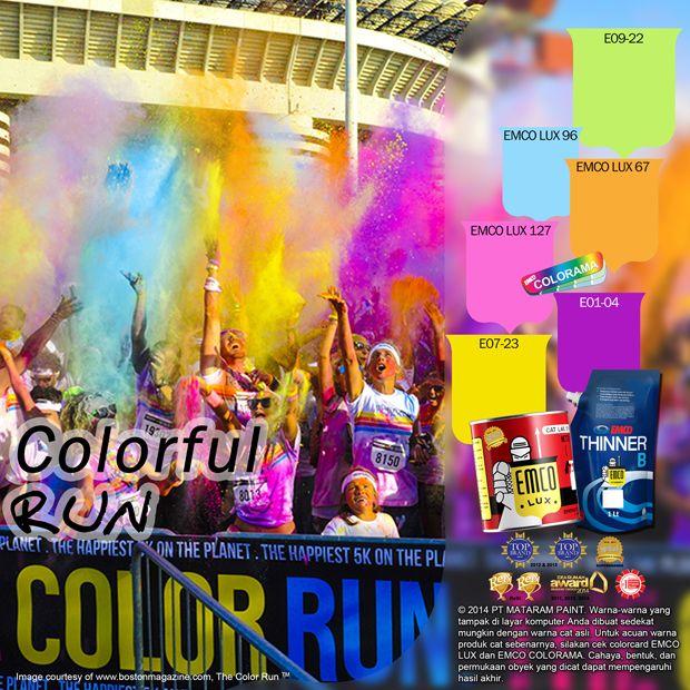 Colorful Run #colorful #run #fun #color #likeforlike http://matarampaint.com/detailNews.php?n=382