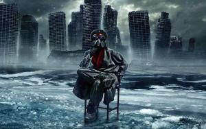 Preview wallpaper drawing, apocalypse, destruction