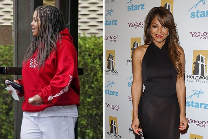 Janet Jackson Jackson has been in the spotlightalongside her brothers ever since she was a girl. She has been battling ongoing weight gain and appearance changes for years, andis now looking great as a 50-year old!