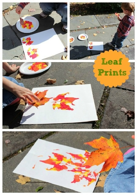 Leaf Prints Activity