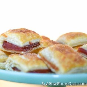 Easy guava pastries