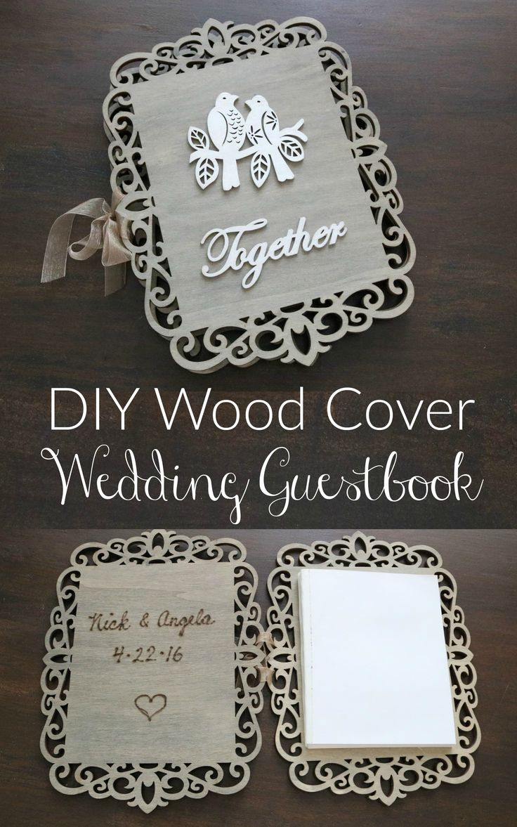 Carve your names and date inside with a wood burner