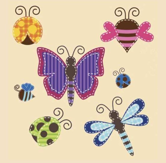 Bugs Applique - 2016 July - Bugs