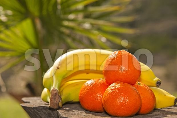 Stock photo of Bananas and oranges from $1.99. Fresh fruit - Bananas and oranges...