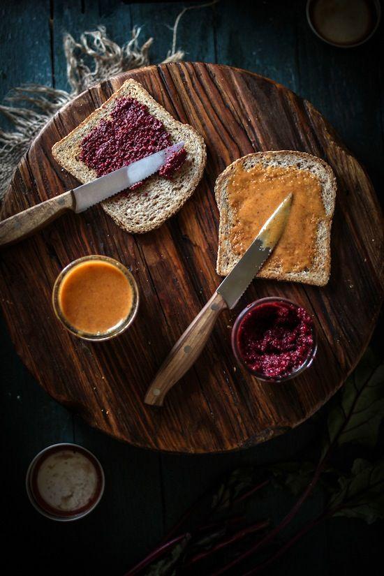 Aventuras na cozinha: assado beterraba balsâmico mostarda e mostarda de mel Chipotle Dippin '