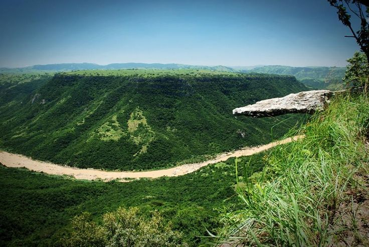 Oribi Gorge is a canyon in southern KwaZulu-Natal, South Africa, just west of Port Shepstone, which itself is 120 km south of Durban