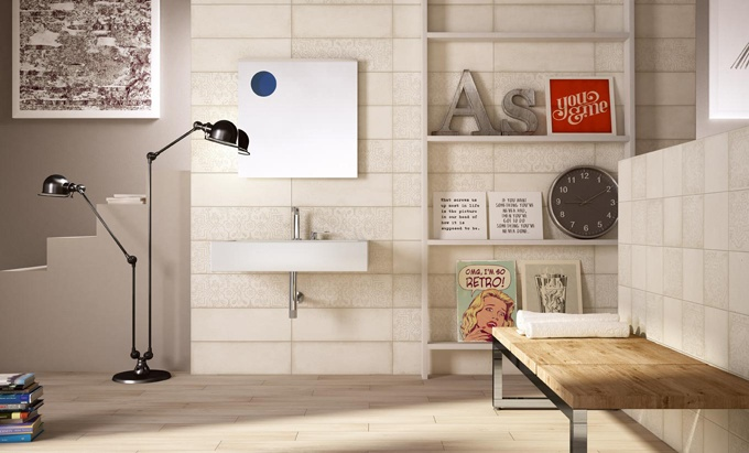 The eco-active, anti-pollutant and anti-bacterial tile by Iris Ceramica.