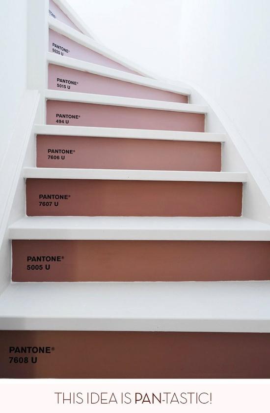 panatone stair case!!