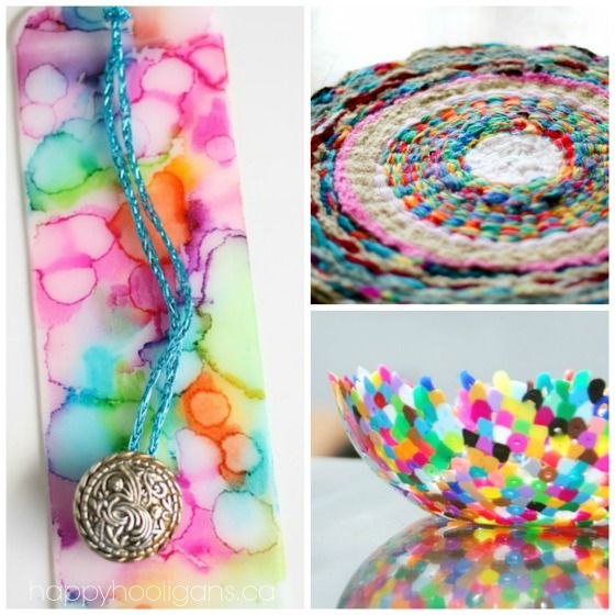 40 GORGEOUS and really useful homemade gifts kids can make and give - Happy Hooiigans