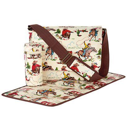 Cowboy diaper bag by Cath Kidston