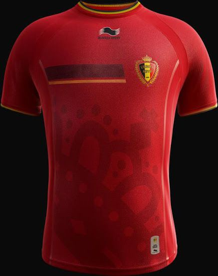 Belgium's World Cup jerseys... they have three!  http://learn.captainu.com/2014/04/21/belgiums-world-cup-jerseys/